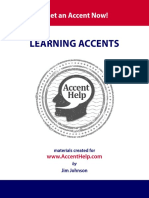 Learning Accents