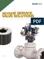 Severe Service Valve Solutions