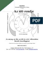 Aspektus. Térelméleti könyvsorozat 9. Könyv 5.2 változat. Az élet és a rendezettség kezdete. Az élet szimmetriája.pdf
