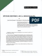 Bousquets et al (2000) Sintese historica da biogeografia