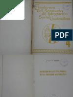 cuaderno No 4, Seminario de Integración Social de Guatemala