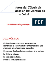 aplicacion de calculo de probalidades en las ciencias de la salud