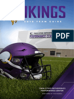 2018 Minnesota  Vikings  media guid3
