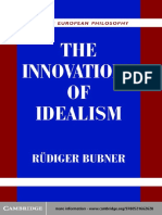 (Modern European Philosophy) Rudiger Bubner-The Innovations of Idealism -Cambridge University Press (2003).pdf
