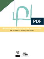 Balance Preliminar de Las Economias de Al 2008