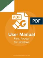 FoxitReader73 Manual