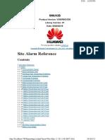 Lista de Alarmas SMU_SCC800