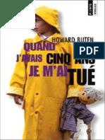 Quand j'avais cinq ans Je m'ai tué - Howard Buten