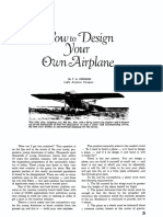 How to Design Your Airplane