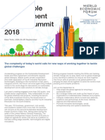 WEF SDIS18 Meeting Overview