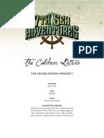 7th Sea Adventure - The Grand Design 01 - The Caliberi Letters