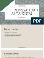 29. Kuliah Farmakologi Antidepresan