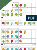 Completar las secuencias Orugas Ficha de actividad por niveles.pdf