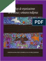 catálogo de artesanos México