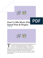 How To Mix Part 2