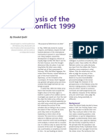 An Analisys Kargil Conflicts