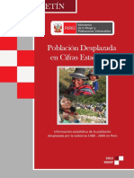 Boletín. Población Desplazada en Cifras Estadísticas