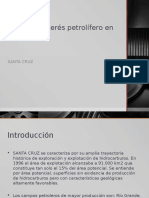 Zonas de Interes Petrolifero en Bolivia