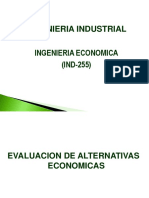 Tema 9 Evaluacion Alternativas -2017
