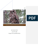 northern spotted owl endangerment white paper portfolio with edits