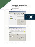 Cara HandBrake kecilkan File Video.doc