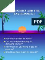 Environment Economics - Valuation