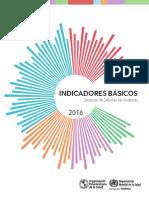 Indicadores Básicos de Salud en Las Américas - 2016 - WHO