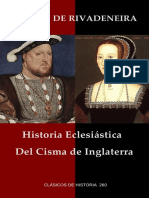 Rivadeneira, Pedro de. - Historia Eclesiastica Del Cisma de Inglaterra [2018]