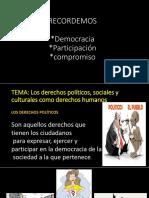 2DO D Diapositiva, Tema Derechos Politicos Soc y Culturales