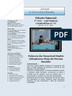 Jornal a Terra Dos Filósofos (Nº 10) - Edição Especial