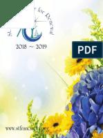 St. Francis Center Program Brochure 2018-2019