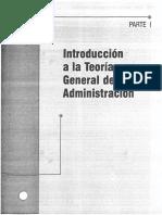 1er Cap.introducción a La Teoría General de La Administración, 7ma Edición