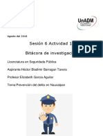 Sesión 6 Actividad 1. Bitácora de Investigación (1)