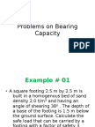30 Problems on Bearing Capacity 354