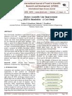 Concrete Mixture Assembly Line Improvement using ARENA Simulation - A Case Study