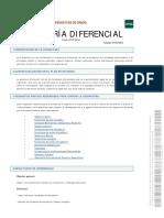 Programa de Geometría Diferencial UNED