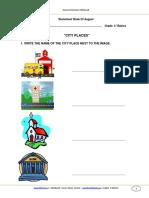Guia de Aprendizaje Ingles 4basico Semana23 Agosto 2013
