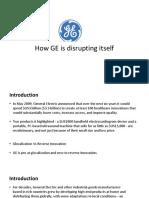How GE is Disrutpting Itself