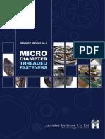 Micro Dia Fasteners