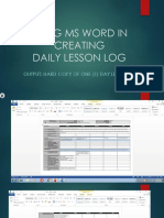 Using Ms Word in Creating Dll