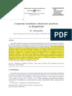 Akhtaruddin 2005 Research