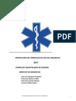 PRONTUARIO FÁRMACOS HSPA