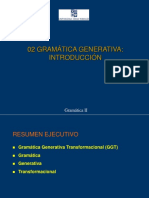 Gramatica Generativa - Introduccion