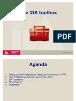 IIA Presentasjon ISACA