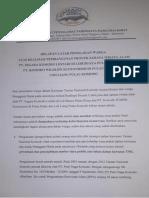 Pernyataan Sikap Formapp Mabar yang disampaikan ke Kementerian Lingkungan Hidup dan Kehutanan RI