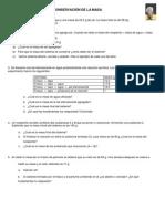 Ficha de ejercicios - Ley de Conservación de la masa (Lavoisier)