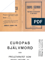 Europas Sjalvmord 1914(1)