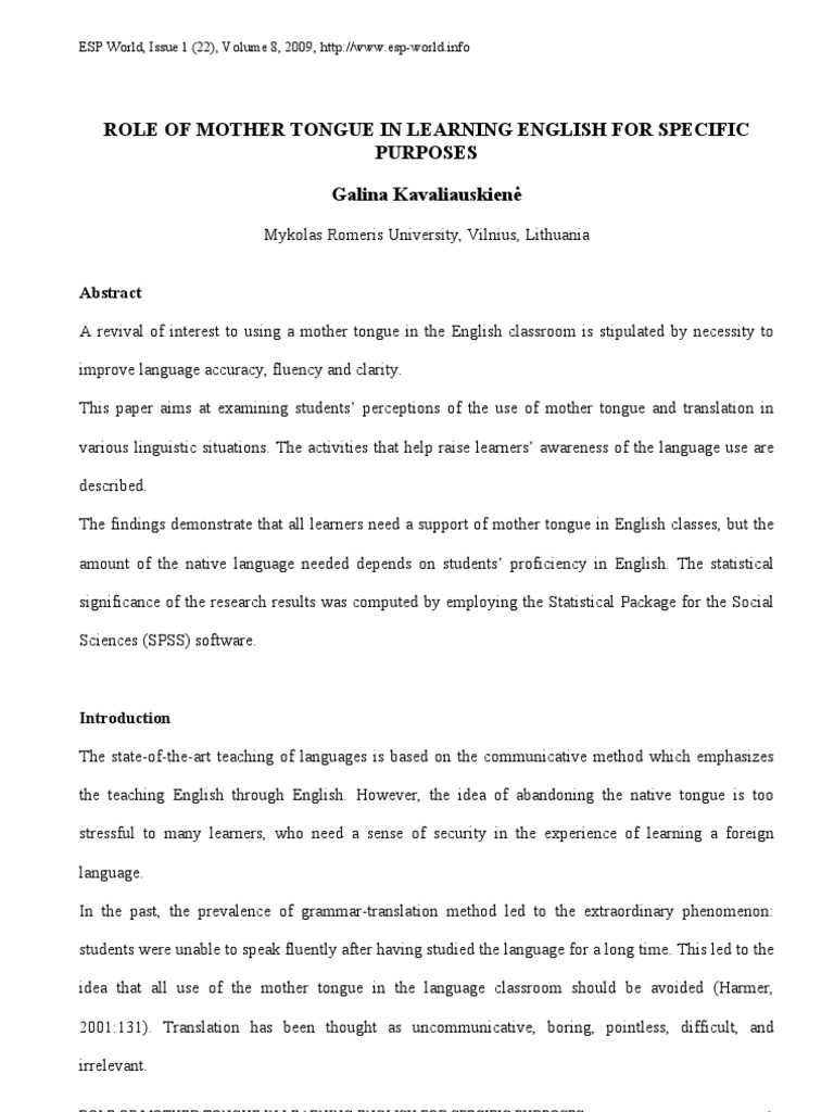 teaching english through translation essay English language teaching classroom this was demonstrated through the communicative different definitions of the term translation this essay will define.