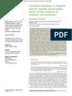 Philosophical Transactions Biological Sciences Volume 373 issue 1754 2018 [doi 10.1098%2Frstb.2017.0263] Gonçalves, André; Biro, Dora -- Comparative thanatology, an integrative approach- exploring sen.pdf