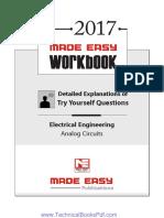Electrical Engineering Analog Circuits 2017